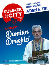 Summer in the city – Concert Damian Draghici