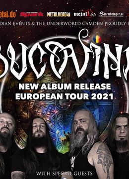 Bucovina Album release show - Budapest with special guests  Valhalore, Infinitas & local support
