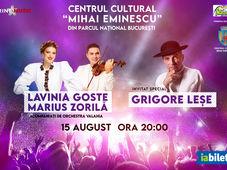 Concert Lavinia Goste, Marius Zorila, Grigore Lese acompaniati de Orchestra Valahia