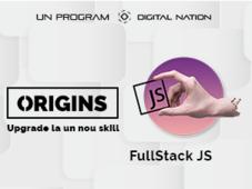 Origins: curs de specializare in Fullstack JS