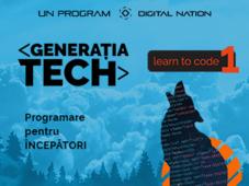 Generatia Tech: Learn to Code 1 (Programare pentru începători)