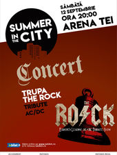 Summer in the City - Concert The Rock , AC/DC tribute