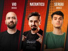 Sibiu: Stand Up cu Vio, Natanticu si Mirica