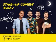 Buzau: Stand-up Comedy cu Mane, Gherghe, Cîrje și Vacariu