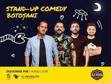 Botosani: Stand-up Comedy cu Mane, Gherghe, Cîrje și Vacariu