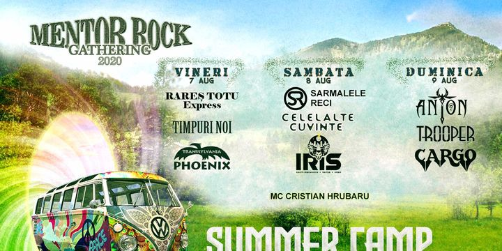 Mentor Rock Gathering - Summer Camp Brezoi