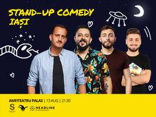 Iasi: Stand-up Comedy cu Mane, Gherghe, Cirje si Vacariu