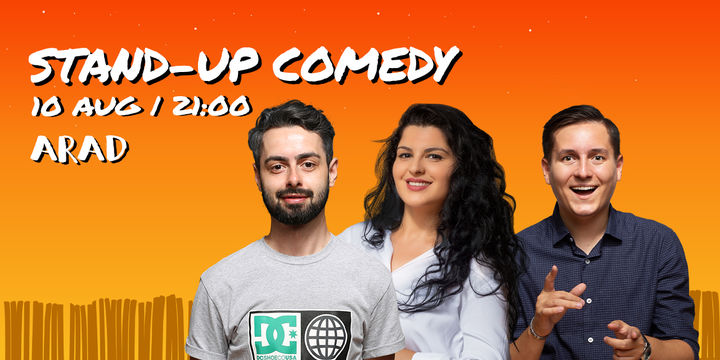 Arad: Stand-up Comedy cu Bucalae, Tanase, State