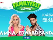 Concert Amna & Band si Edward Sanda @ #FAMILYFEST Island
