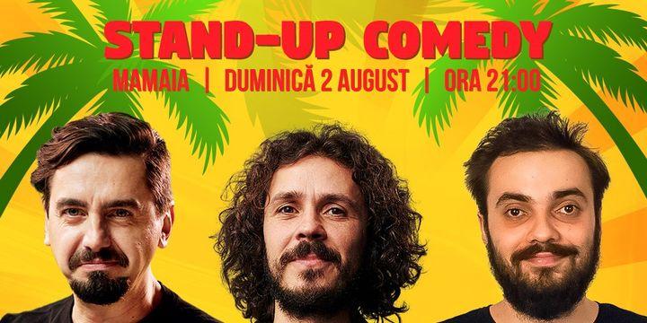 Constanța: Stand Up Comedy cu Costel, Natanticu si Mitran