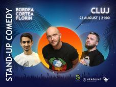 Cluj-Napoca: Stand-up Comedy cu Bordea, Cortea si Florin