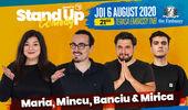 Stand up at TNB cu Maria, Mincu, Banciu și Mirică