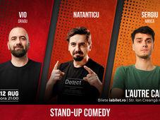 Cluj-Napoca: Stand Up Comedy cu Vio, Natanticu & Mirica