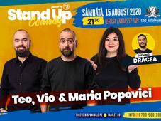 Stand up comedy at TNB cu Teo, Vio și Maria