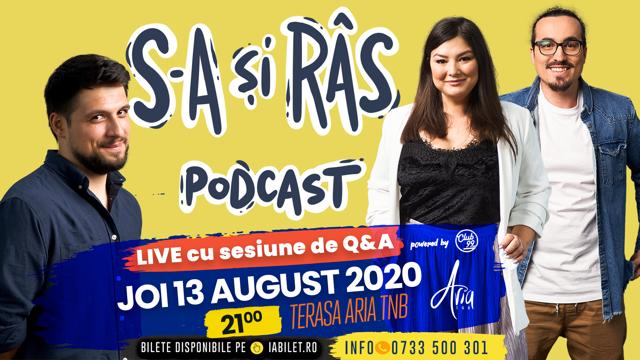 """Podcast LIVE cu public - """"S-a și râs"""" - Maria, Mincu si Banciu la Aria TNB"""