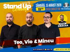 Stand up comedy at TNB cu Teo, Vio și Mincu