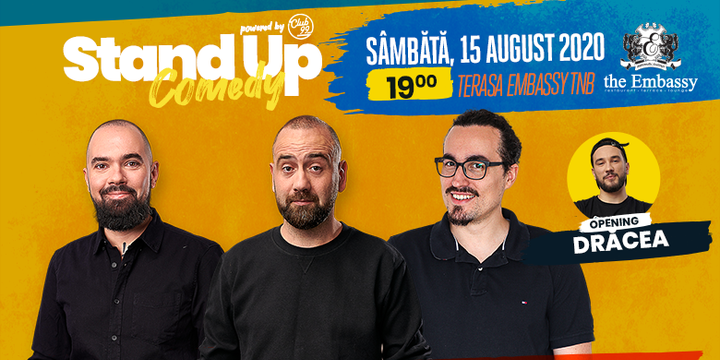 Stand up comedy at TNB cu Teo, Vio și Mincu