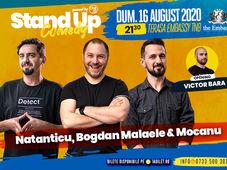 Stand up at TNB cu Natanticu, Bogdan Malaele, Alex Mocanu in deschidere Victor Bara