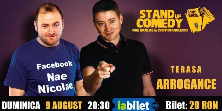 Bals: Stand-up Comedy cu Nae Nicolae si Cristi Manolescu