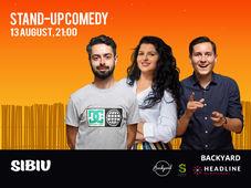 Sibiu: Stand-up Comedy cu Bucalae, Tanase, State