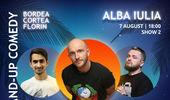 Alba Iulia: Stand-up Comedy cu Bordea, Cortea si Florin de la ora 18:00