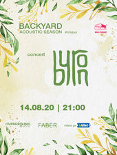 Timisoara: Concert acustic byron pe 14 august - Backyard Acoustic Season