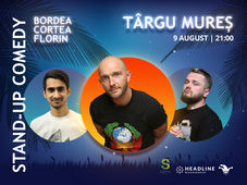 Targu Mures: Stand-up Comedy cu Bordea, Cortea si Florin
