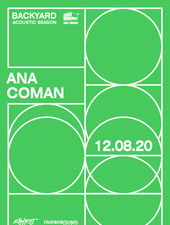 Ana Coman • Backyard Acoustic Season 2020 • Second Show