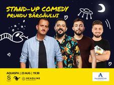 Prundul Bargaului: Stand-up Comedy cu Mane, Gherghe, Cîrje și Vacariu