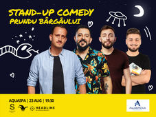 Sibiu: Stand-up Comedy cu Mane, Gherghe, Cîrje și Vacariu