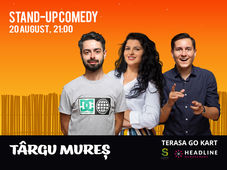 Targu Mures: Stand-up Comedy cu Bucalae, Tanase, State