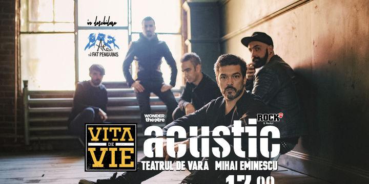 Concert Vita de Vie & Alex and the Fat Penguins Acustic