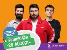 Sighisoara: Stand-up Comedy cu Micutzu, Geo, Mirică