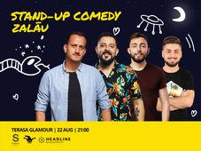 Zalau: Stand-up Comedy cu Mane, Gherghe, Cîrje și Vacariu