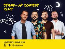 Cluj-Napoca: Stand-up Comedy cu Mane, Gherghe, Cirje si Sasa Ciobanu