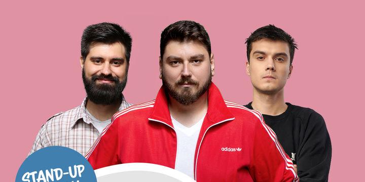 Brasov: Stand-up Comedy cu Micutzu, Geo, Mirică