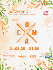 Timișoara: Concert acustic Coma pe 21 august - Backyard Acoustic Season