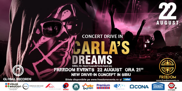 Sibiu: Concert Drive-In Carla's Dreams