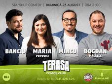 Stand-up cu Maria, Mincu, Banciu și Bogdan Mălăele la ComicsClub!