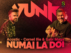 Targu Mures: VUNK - Numai la doi - Acustic - Cornel Ilie & Gabi Maga