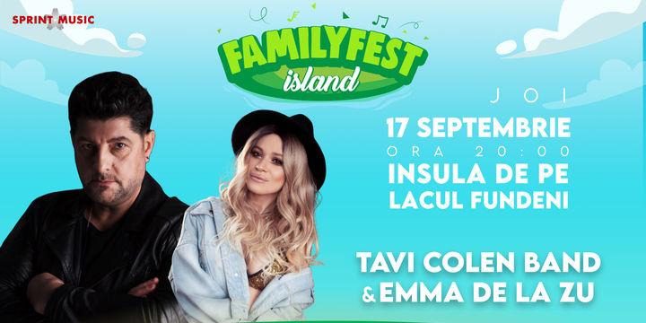 Concert Tavi Colen Band impreuna cu Emma de la Zu@ #FAMILYFEST Island