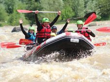Rafting pe Buzau cu Green Adventure