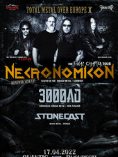 Necronomicon / 3000 AD / Strident - Live in Quantic