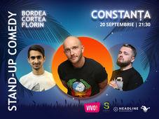 Constanta: Stand-up Comedy cu Bordea, Cortea si Florin