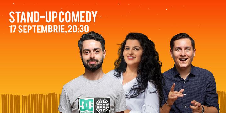 Brasov: Stand-up Comedy cu Bucalae, Tanase, State