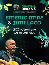 Emeric Imre & Jimi Laco acoustic in the Garden