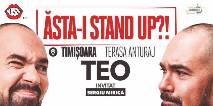 """Timisoara: """"Ăsta-i stand up?!"""" Teo cu Mirica și Bara"""