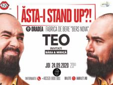 """Oradea: """"Ăsta-i stand up?!"""" Teo cu Mirica și Bara"""