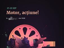 Proiectii de Film Motor, Actiune!