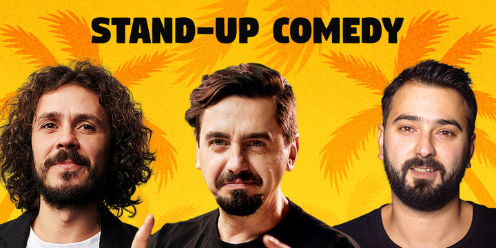 Mamaia: Stand Up Comedy cu Costel, Natanticu si Alex Zob @ Shut Up, Beach!